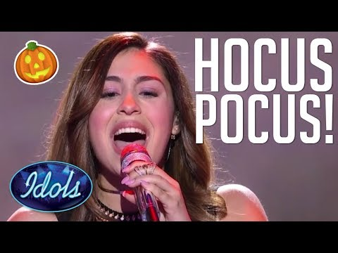 HOCUS POCUS! Gianna Isabella Casts A Spell On American Idol! Idols Global