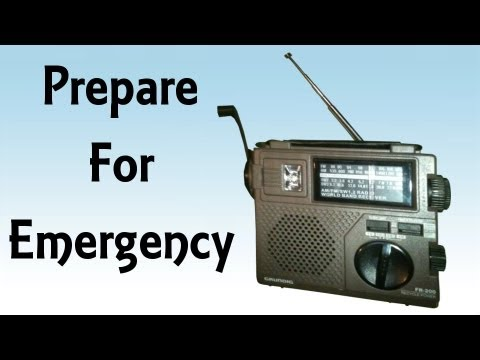 Ultimate Disaster Survival Hand Crank Emergency Radio - Pira