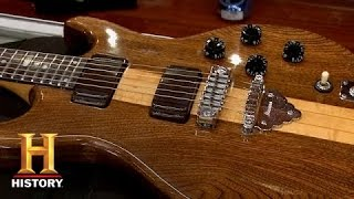 pawn stars 1970s ibanez guitar   history