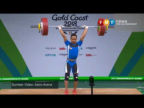 Weightlifter bags first Commonwealth gold for Malaysia