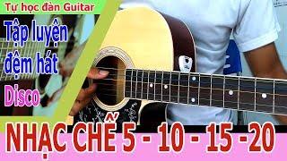 Nhạc chế 5 10 và cách chơi guitar điệu Disco đơn giản nhất cho người mới học đàn