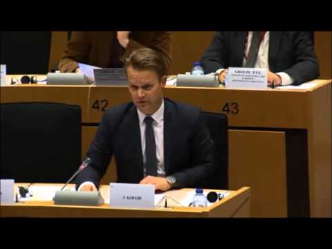 Jeppe Kofod EU Commission Special Committee - Anti-Tax Avoidance