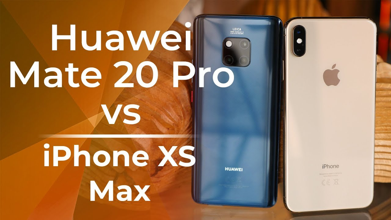 Photo of Huawei Mate 20 Pro vs Apple iPhone XS Max: first look – هواوي