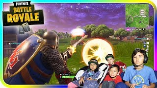 Fortnite Battle Royale with Cousins - TigerBox HD