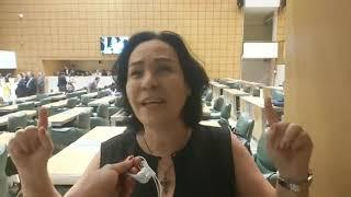 Márcia Lia fala sobre o PLC 28/16