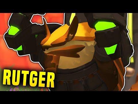 RUTGER, MY NEW FAVOURITE HERO | Gigantic Rutger Gameplay & Build