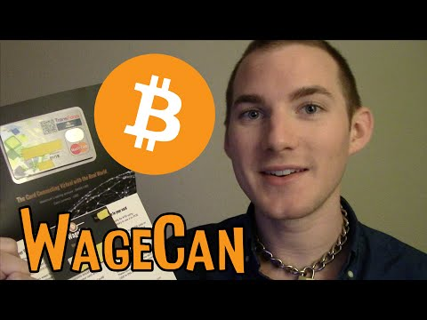 WageCan Bitcoin ATM Debit Credit Card Review