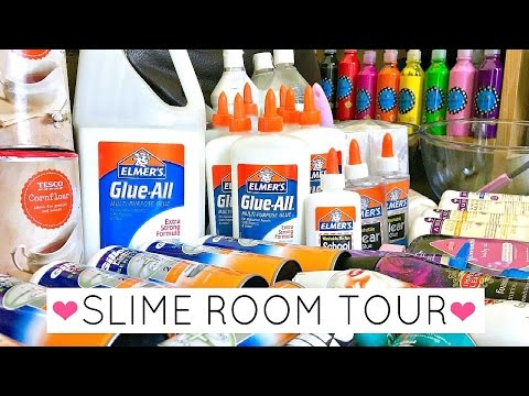 My Slime Room Tour // Talisa Tossell's Slime Room Tour 2017!