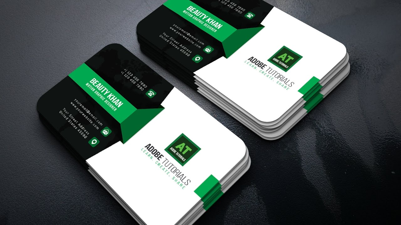 Adobe illustrator tutorial corporate green business card design adobe illustrator tutorial corporate green business card design colourmoves