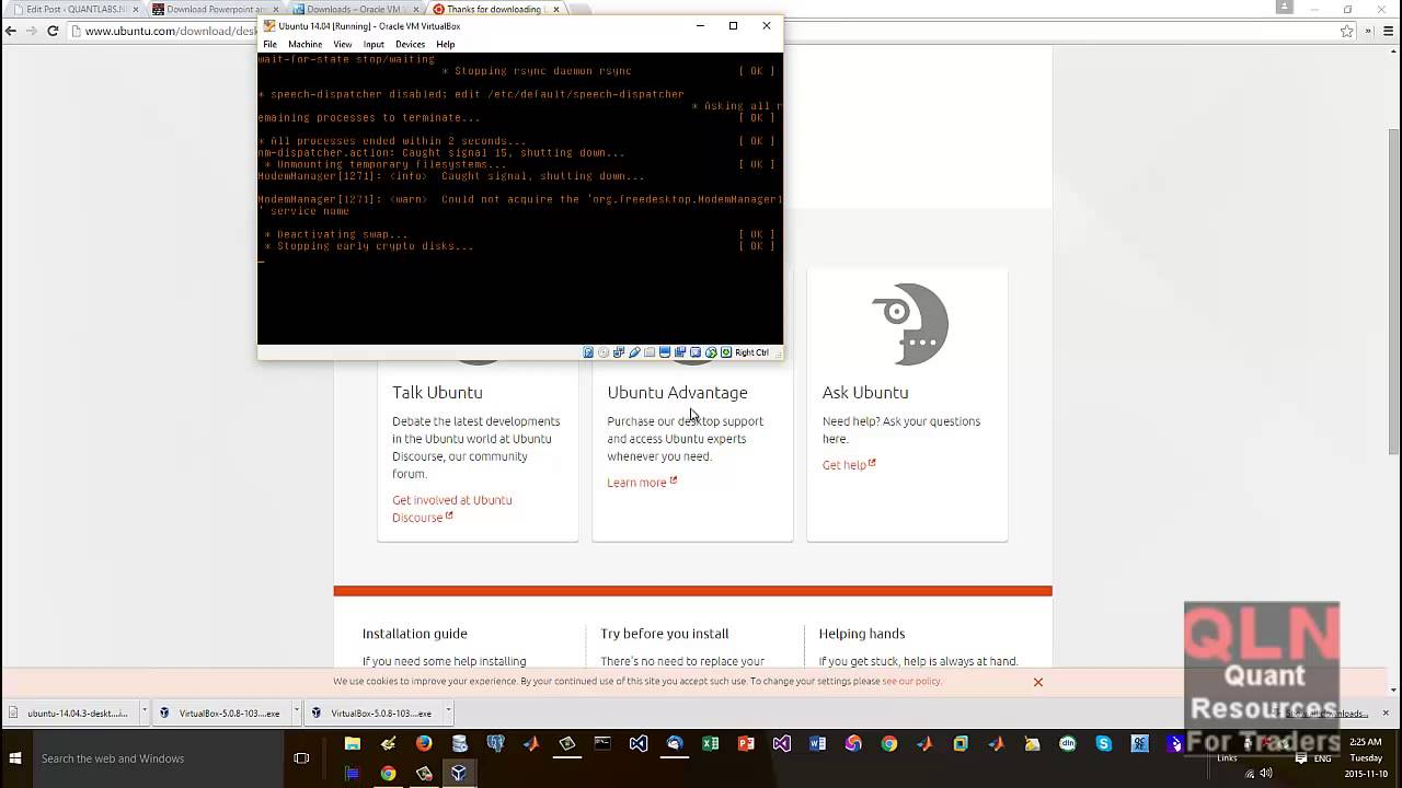 How to install Ubuntu Linux on Virtual Box with Cpp and Eclipse