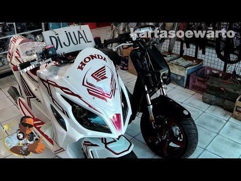 Modif Honda beat F1 | Joker Variasi Motor - Bandung 2018