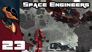 Let's Play Space Engineers Multiplayer - PC Gameplay Part 23 - Tau Mangled
