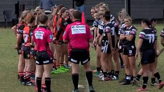 Group 6 CRL 2018, Round 8, Ladies League Tag (1st half) Tigers v Magpies