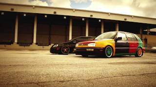 Respect Your Elders by K3 Projekt Wheels Bagged GTI and the Harlequin