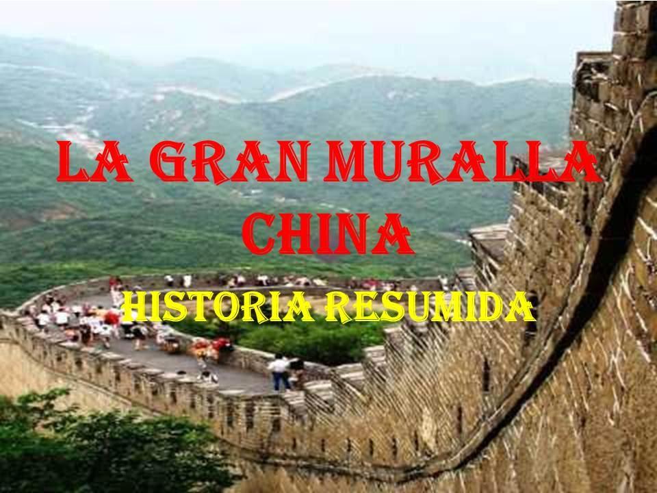 La gran muralla china historia resumida conoce todo for Q es la muralla china