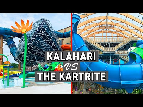 Kalahari Vs Kartrite Comparison - Kalahari Resort Poconos Versus Kartrite Water Park Monticello NY