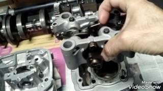Motor nova Titan 160 ( retífica detalhada parte 1)