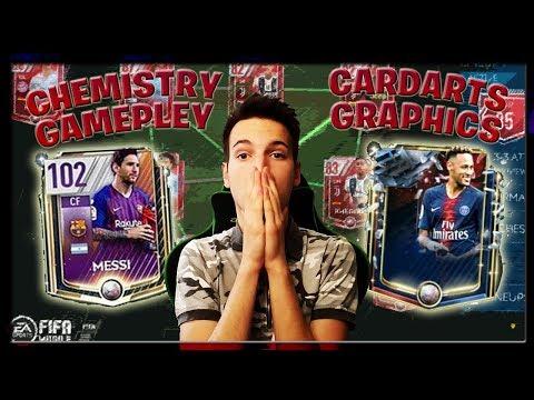CHEMISTRY, GAMEPLAY, CARDART FIFA MOBILE 19 MOJE MISLJENJE !!