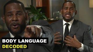 R. Kelly Gayle King Full Interview Body Language Analysis