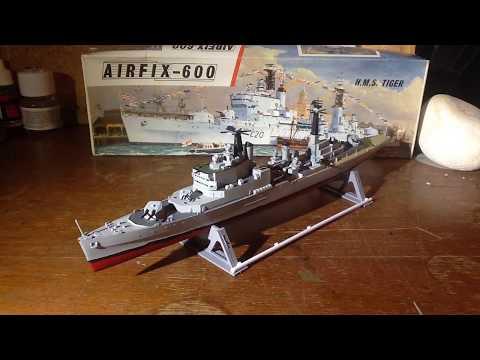 HMS Tiger model