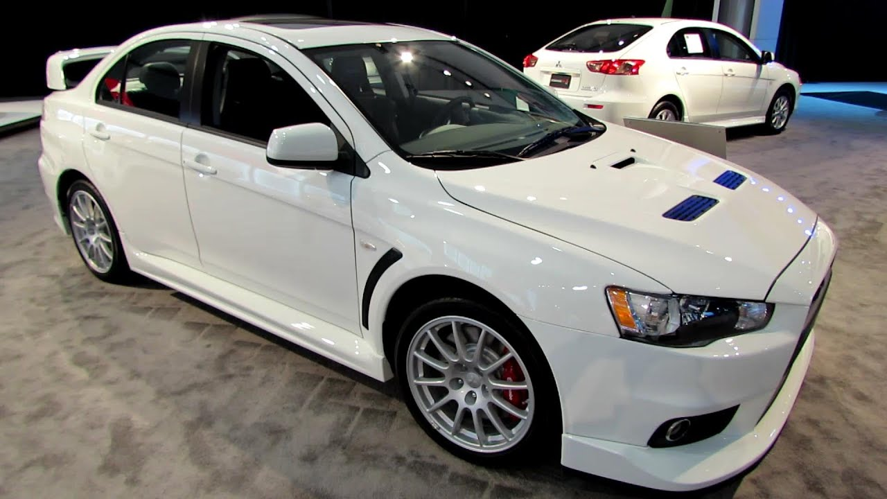 2014 Mitsubishi Lancer Evolution GSR  Exterior and Interior