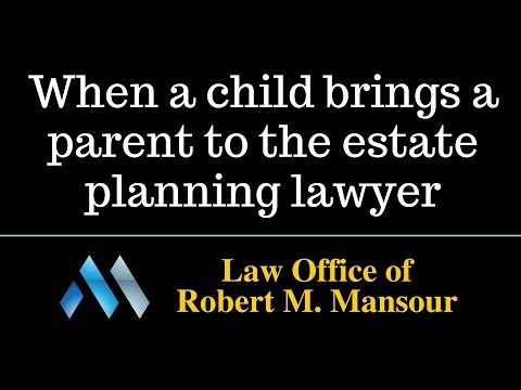 Valencia CA estate planning lawyer regarding children and pa