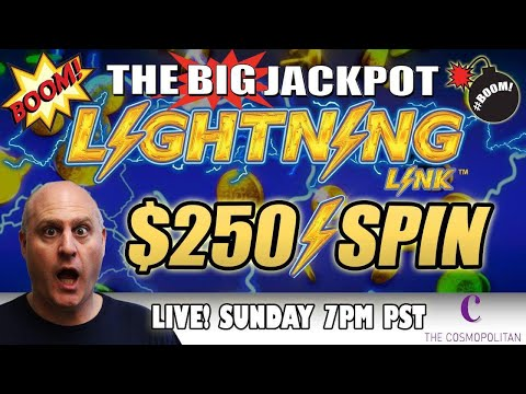 🔴 First Ever $250 Live Massive Pull Lighting Link 💣