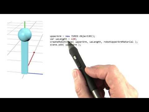 Robot Arm - Interactive 3D Graphics