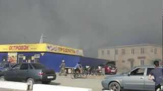 Пожар на мебельном предприятии в Кузнецке(Пожар на мебельных предприятиях в Кузнецке произошёл 9 мая 2012 года в 16:00 часов., 2012-05-10T09:08:12.000Z)
