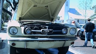 1965 Ford Mustang Barn Find Convertible Wht Longwood022716