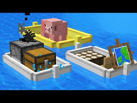 The Minecraft Boat Update that NEVER Happened...