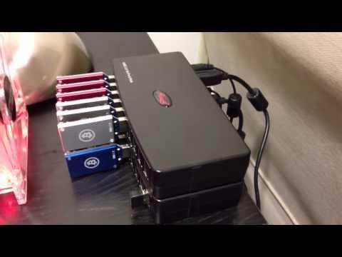 4 GH/s Raspberry PI Bitcoin Miner - PiMiner