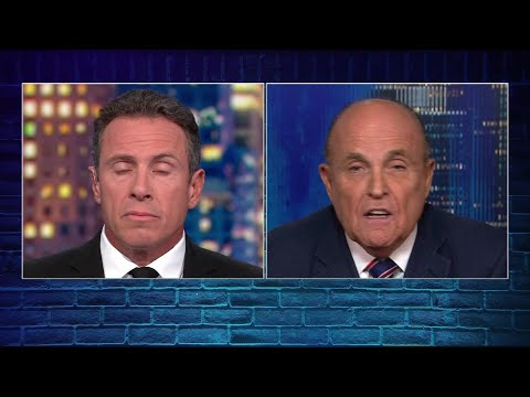 """Rudy Giuliani says, """"of course I did"""" when questioned on whether he asked the Ukraine to look into J"""