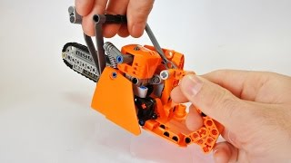 How to Build a Lego Technic Chainsa...