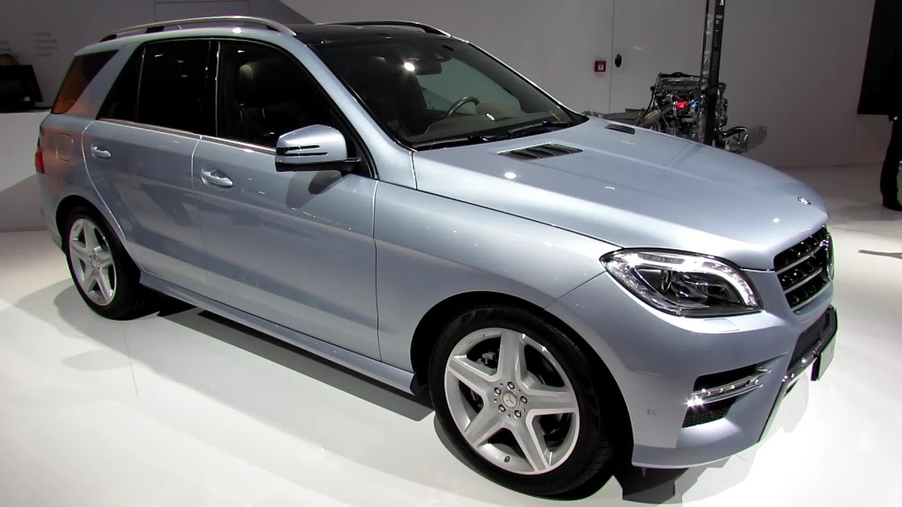 2014 mercedes benz ml250 bluetec exterior and interior walkaround 2013 frankfurt motor show. Black Bedroom Furniture Sets. Home Design Ideas