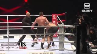 GLORY 8 Tokyo - Peter Aerts vs. Jamal Ben Saddik (Highlights)