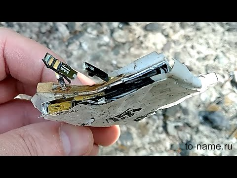 Что будет если разбить аккумулятор от телефона