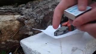 как сделать мини фейерверк из спичек