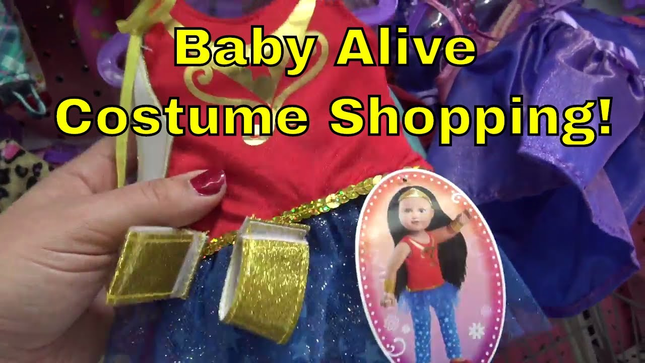 BABY ALIVE, Monster High, Barbie, Store Hopping Shopping Halloween ...