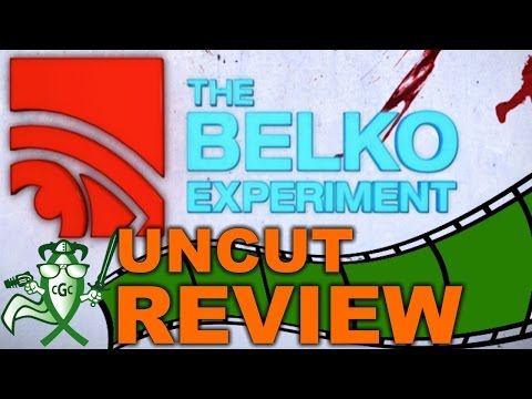 """The Belko Experiment"" or ""The Value Of Human Life"" - CGC UNCUT REVIEW"