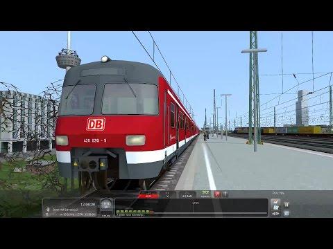 BR420 RB nach Bonn HBF Führerstandsmitfahrt Train Simulator 2017 no comment / kein Kommemtar