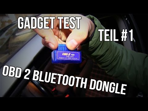 Gadget Test Teil #1 | OBD 2 Bluetooth Dongle Golf 5