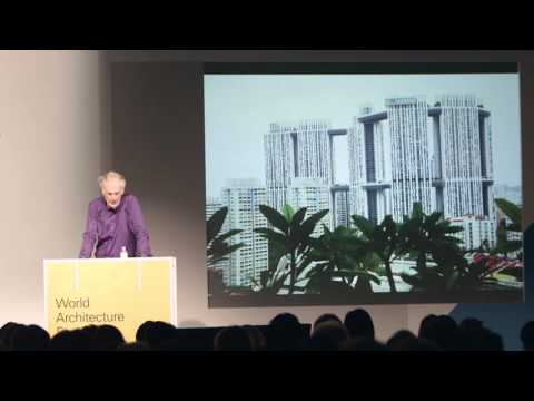 World Architecture Festival 2015: Charles Jencks