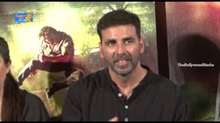 "Akshay kumar funny speech @ ""gabbar is back"" trailer launch - shruti haasan, krish p4"