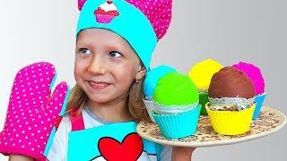 Milana Prepares Mom's Birthday Surprise Cake