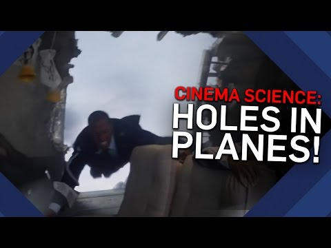 Can You Get Sucked Out Of A Plane? | Cinema Science | Brit Lab
