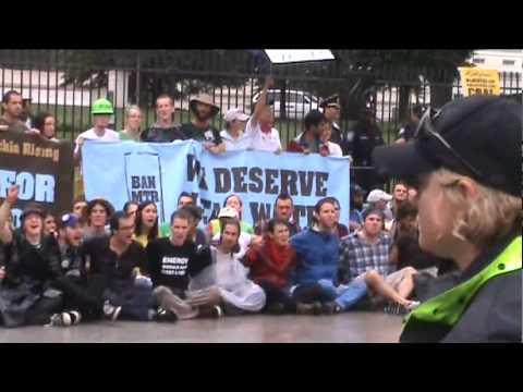 Appalachia Rising (1 of 2) White House, Washington DC - Arrests, Jim Hansen