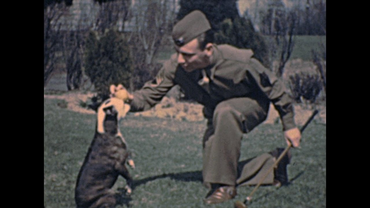 Americana 1940s: The soldier – Archive Footage