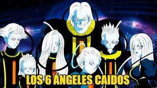 Los 6 ángeles caídos de Dragon Ball Super