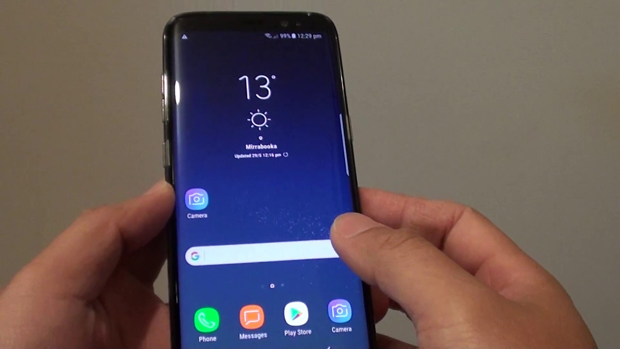 Samsung Galaxy S8 How To Add New Google Account